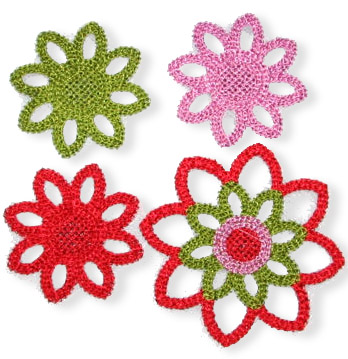 Crochetflowers-fertig
