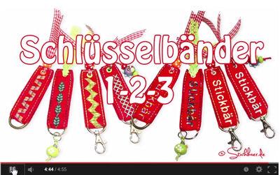 youtube-Schluesselbaender
