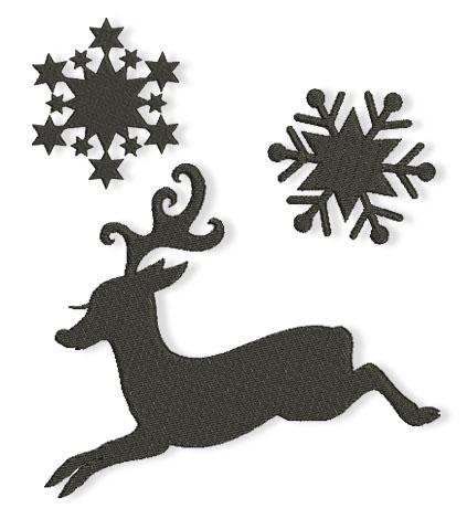 Christmas in silhouettes stickbaer blog - Scherenschnitt sterne ...