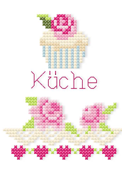 Kueche-Rosenborte