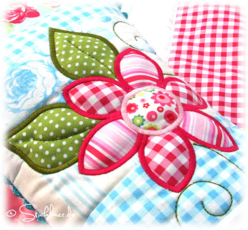Darla Quilt Pillow by Stickbaer