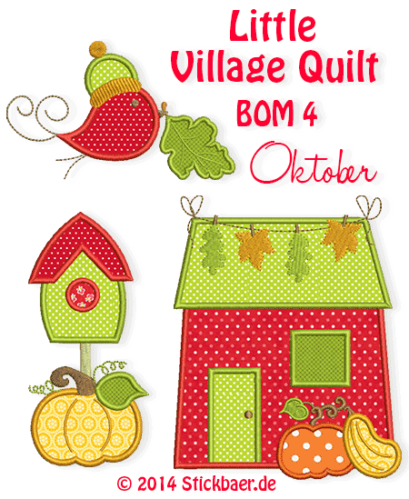 Little-Village-Quilt-BOM4-newsletter