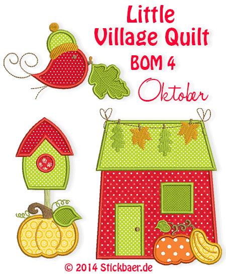 Little-Village-Quilt-BOM4-newsletter