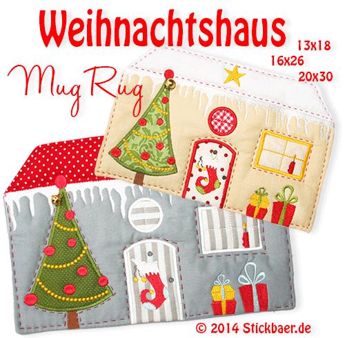Stickbaer-Weihnachtshaus-Mugrug-NL