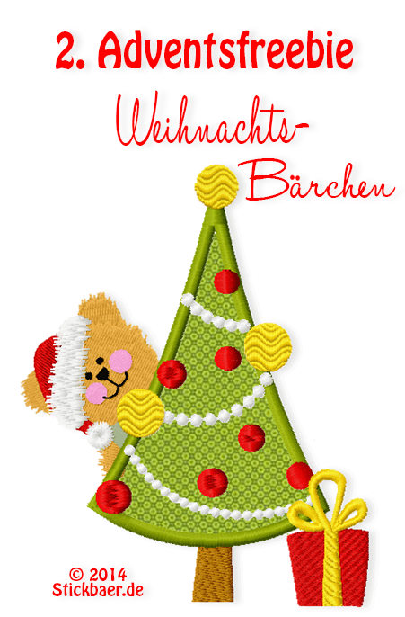 Stickbaer-2.Advents-Freebie-Weihnachtsbaer
