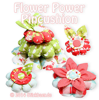 Flowerpower-Pincushion