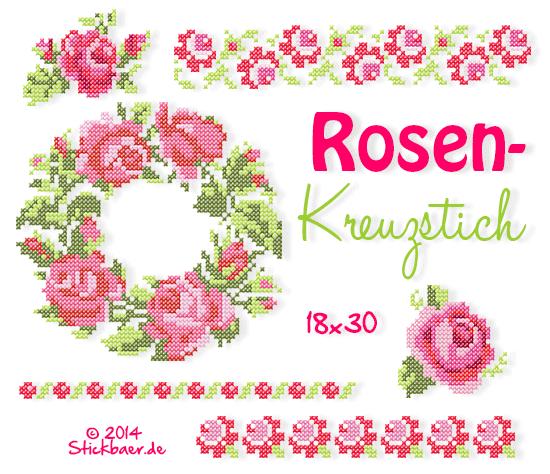 NL-Rosenkreuzstich