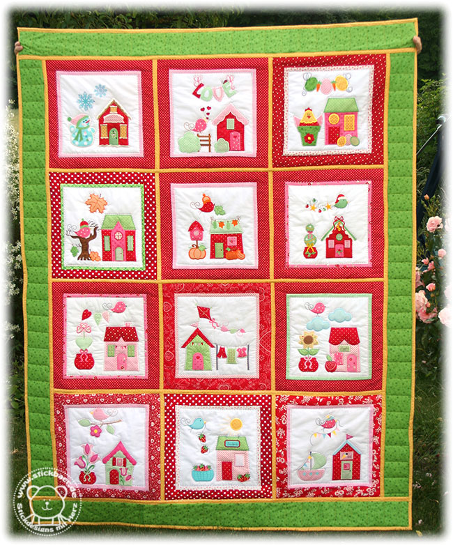 Stickbaer-Little-Village-Quilt-BOM12-Tati-7