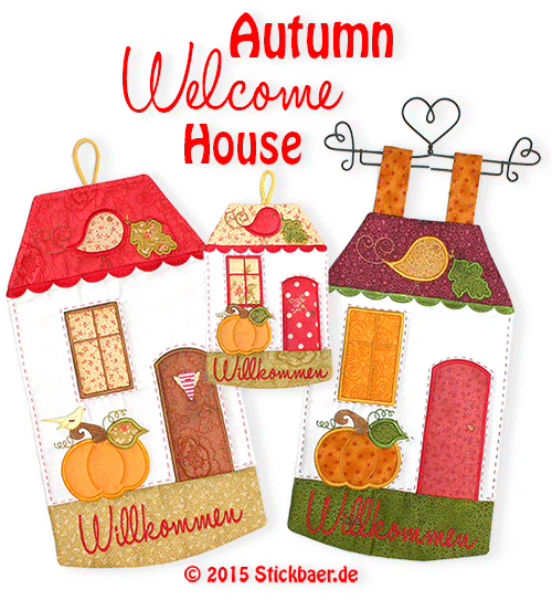 Heartly Welcome to Autumn - Stickbär Blog