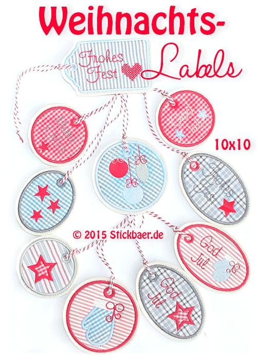 NL-Weihnachts-Labels